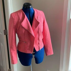 H & M Pink Tweed Jacket